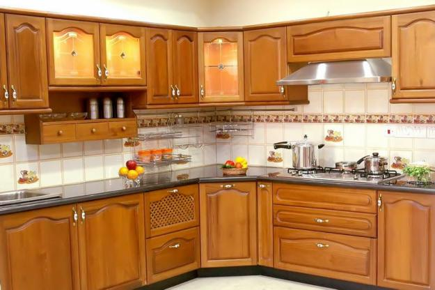 Modular kitchen dealers in greater noida for Small kitchen design indian style